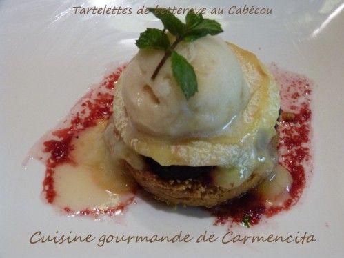 Tartelettes de betterave au cabecou http://www.carmen-cuisine.com/article-tartelettes-de-betterave-au-cabecou-112809107.html