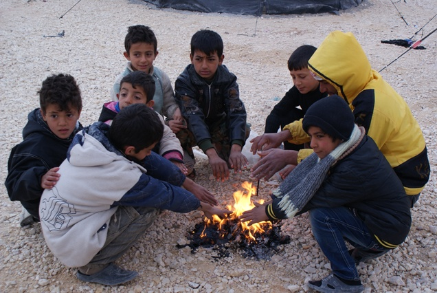 Sono sempre più esposti al freddo e alla paura. Dai voce ai bambini siriani! Repin! http://unicef.it/siria