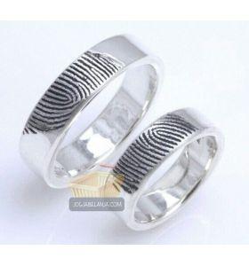 cincin kawin model sidik jari