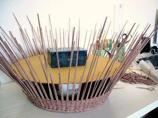 Выбираем и изготавливаем формы для плетения   Плетение из газет