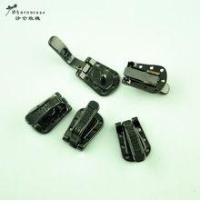 Hoge kwaliteit Metalen bontjassen gespen knoppen drukknoop voor bontjas of marter jas BONT, zwart koffie kameel wit(China)