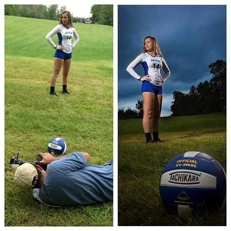best volleyball senior pictures