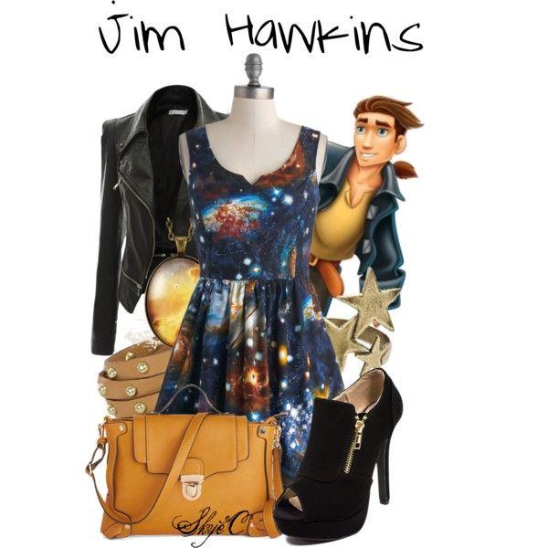 """""""Jim Hawkins - Disney's Treasure Planet"""" by rubytyra on Polyvore"""