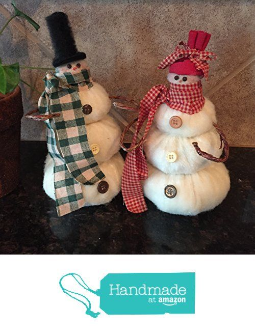 Country Snowmen Christmas Decor from LHT Designs