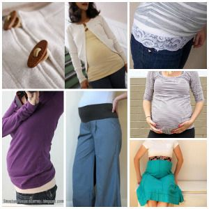 22 Ideas for How To Make Maternity Clothes | AllFreeSewing.com
