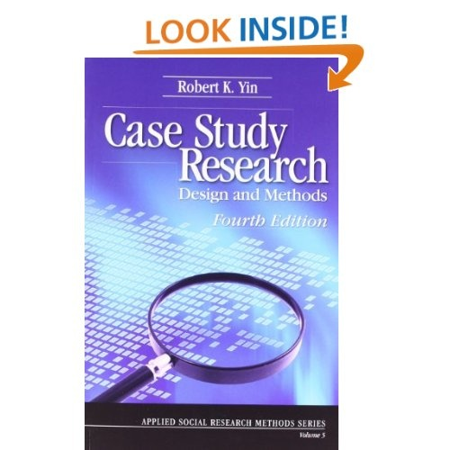 case study research design and methods (applied social research methods) Case study as a research method  through case study methods, a researcher is able to go beyond the quantitative  the researcher can adopt the single-case design .