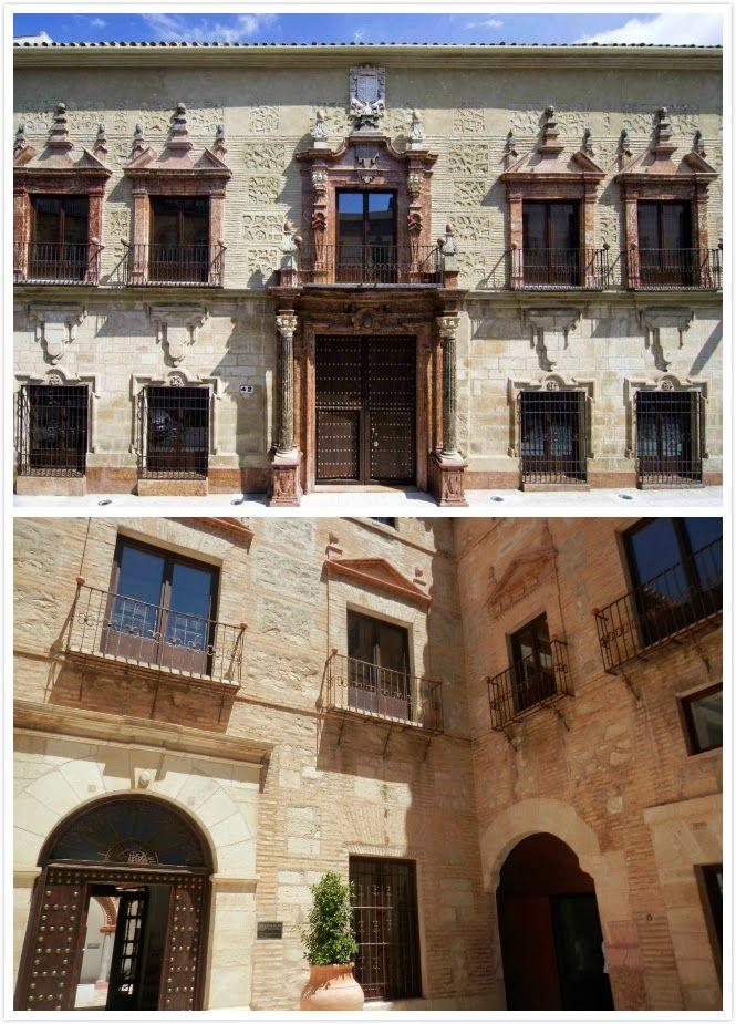 Palacio de los condes de santa ana lucena c rdoba by for Ministerio del interior cordoba