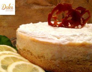 Cheesecake Senza Burro al Limone