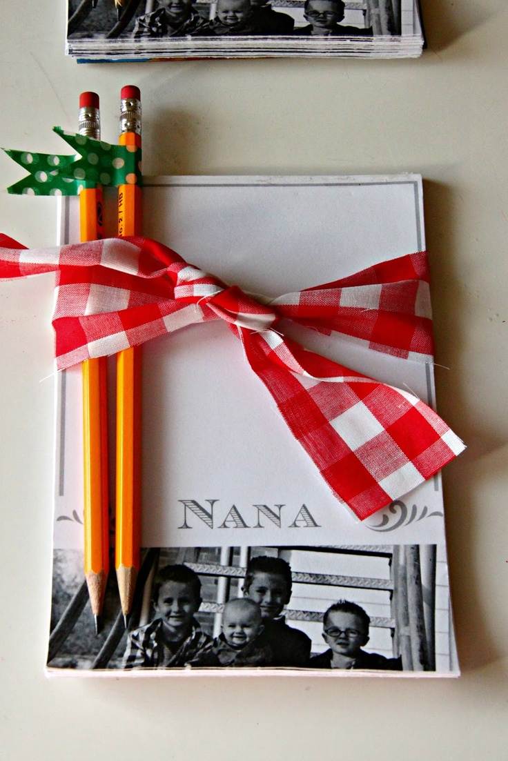 DIY Personalized Notepads