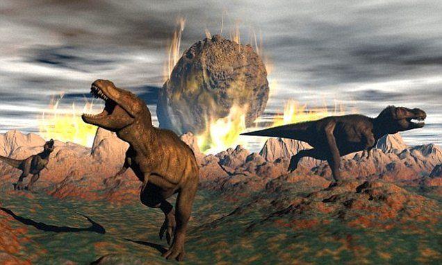 Meteor and Deccan traps 66 mya