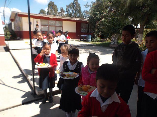 Bienvenido maestro a la zona de aprendizaje.: PLATO DEL BIEN COMER: Alumnos de la escuela primar...