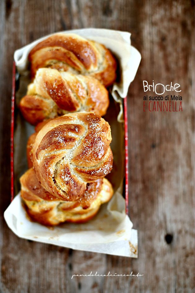 Apple Juice Brioche recipe PANEDOLCEALCIOCCOLATO
