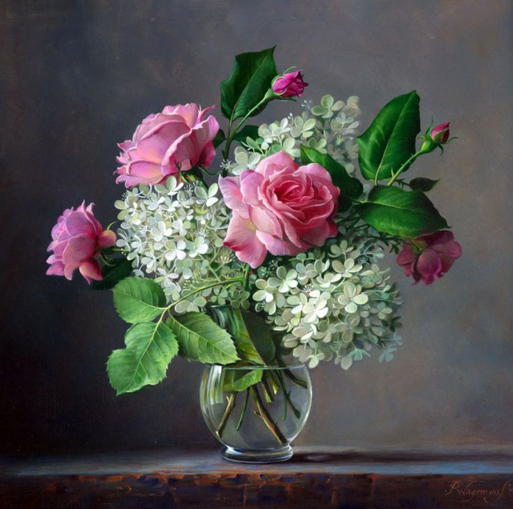 Gallery.ru / Фото #22 - Тюльпаны, розы и другие цветы художника Pieter Wagemans - Anneta2012