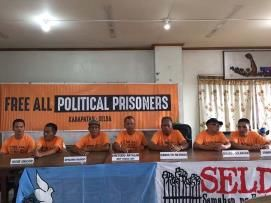 Karapatan: Release of 10 political prisoners freedom with strings attached