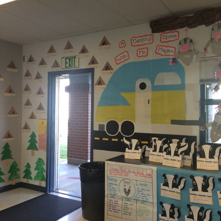 11 best images about Kindergarten Camping Theme for Open House on ...