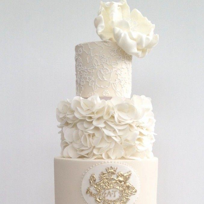 118 Best Wedding Cakes Images On Pinterest