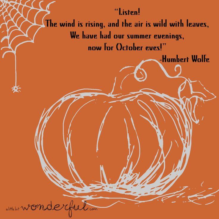 Happy October   Happy October!