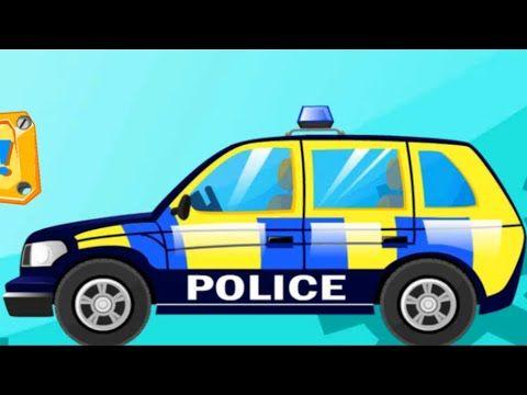 police car for kids trucks for children police truck videos for kids