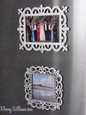 DIY: Magnetic Refrigerator Picture Frames :: Quick and Dirty Tips ™