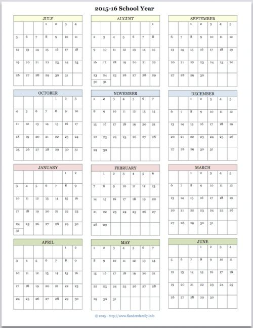 Hi Jennifer, I love your printable calendars and I am anxiously waiting for a 2015-2016 Academic calendar!! :) Thanks, Advanced Planner Dear Planner, You're really on the ball, aren't y…