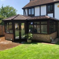 CONSERVATORY WARM ROOFS in 2020   Warm roof, Conservatory ...