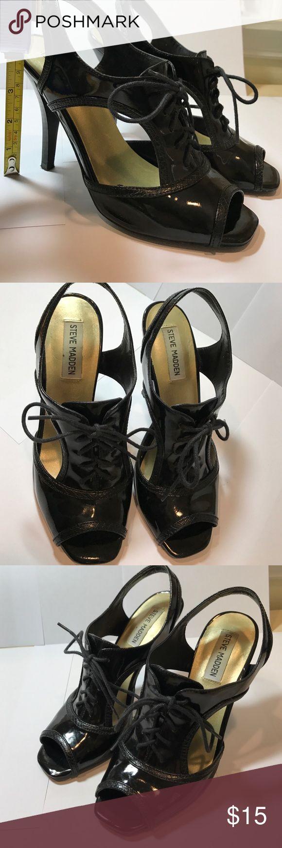 Steve Madden black heels Steve Madden black heels Steve Madden Shoes Heels