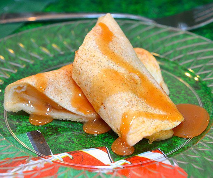 Apple Cinnamon Enchiladas
