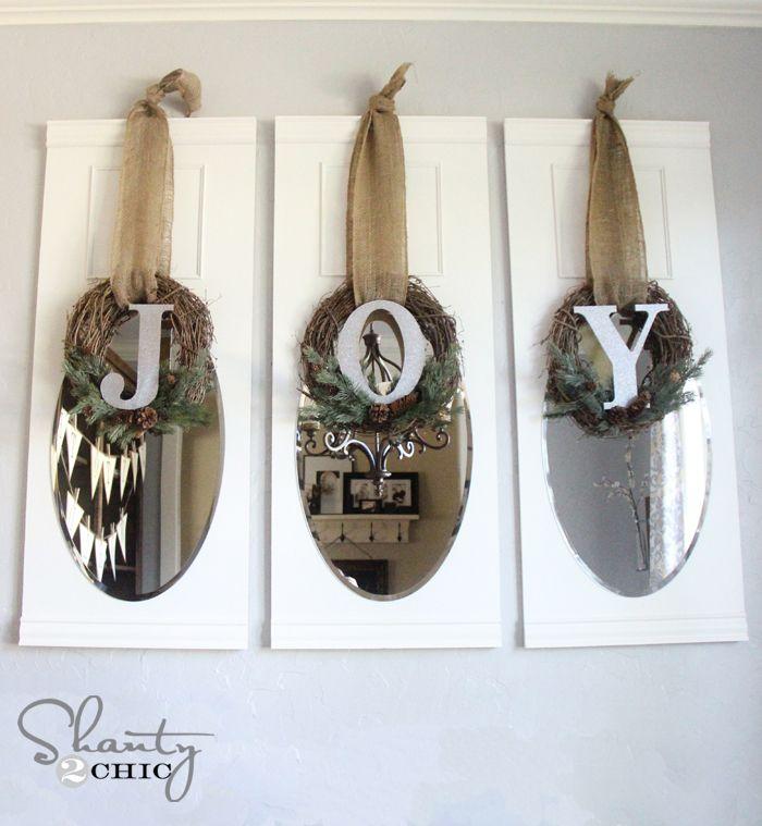 Christian Christmas Craft Ideas Part - 43: DIY Joy Wreaths {Christmas Craft