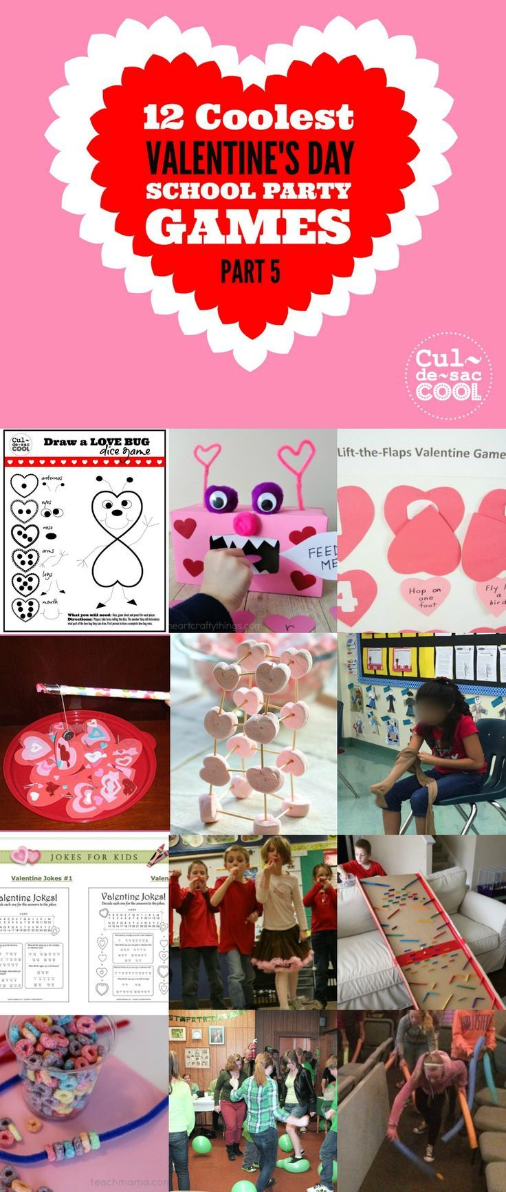 12 Coolest Valentine S Day School Party Games Part 5 Fourth