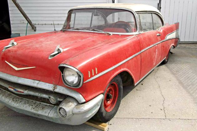 One Owner 1957 Chevrolet Bel Air Barn Finds Pinterest