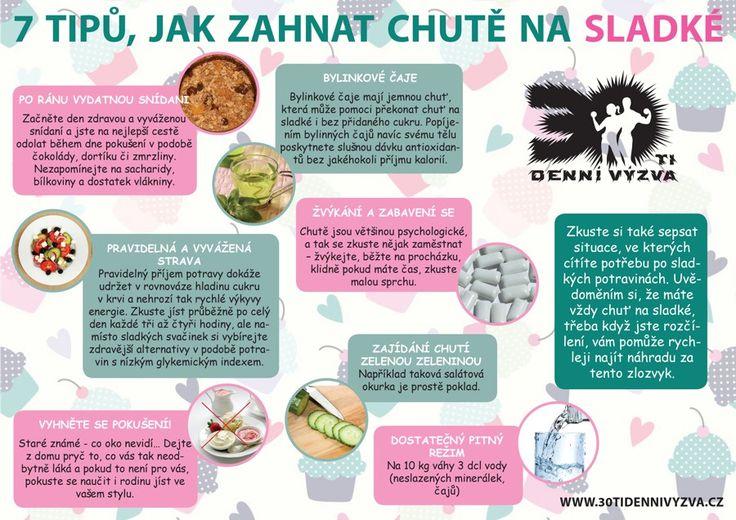 7 tipů jak zahnat chutě na sladké - 30ti denní výzva