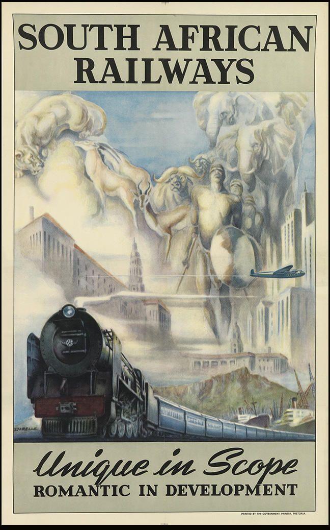 South African Railways ~ Repinned via Mark Roma