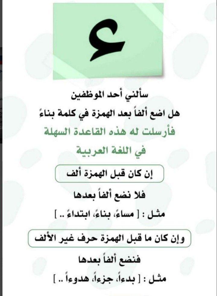 Pin On قواعد اللغة العربية