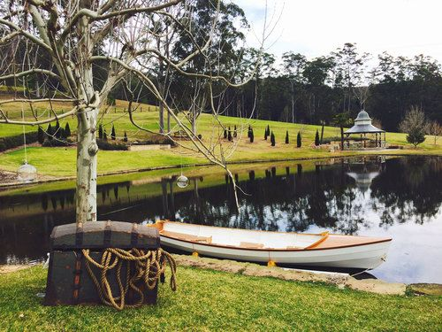 Row Row Row Your Boat | Fernbank Farm | Central Coast Wedding and Events Venue