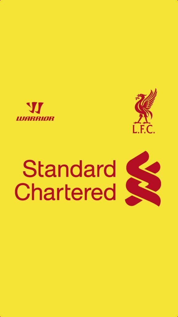 Warrior Liverpool Standard Chartered RED