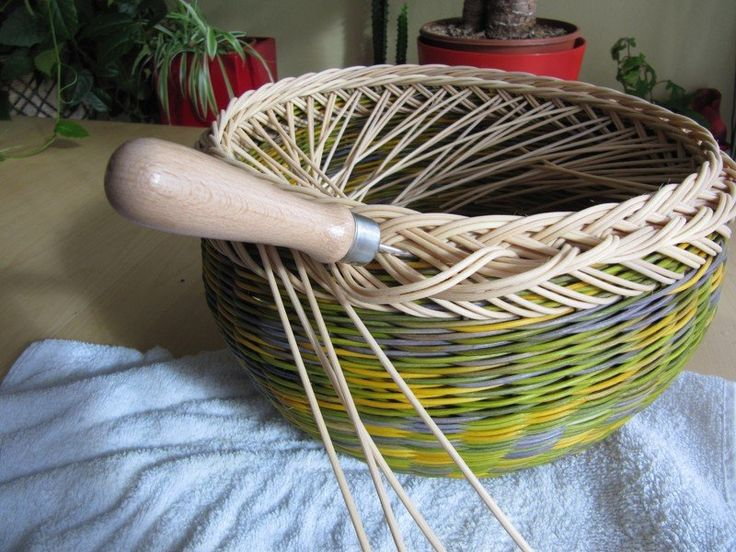 Terrific edging pictorial for creative homemade baskets