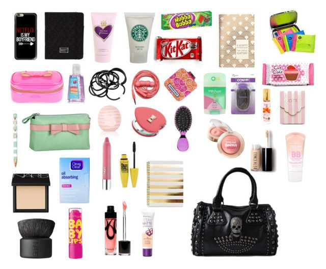"""what in my purse"" by zandrabiebs ❤ liked on Polyvore"