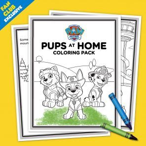 PAW Patrol Exclusive Printable
