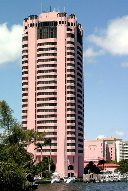 Boca Resort's Pink Tower