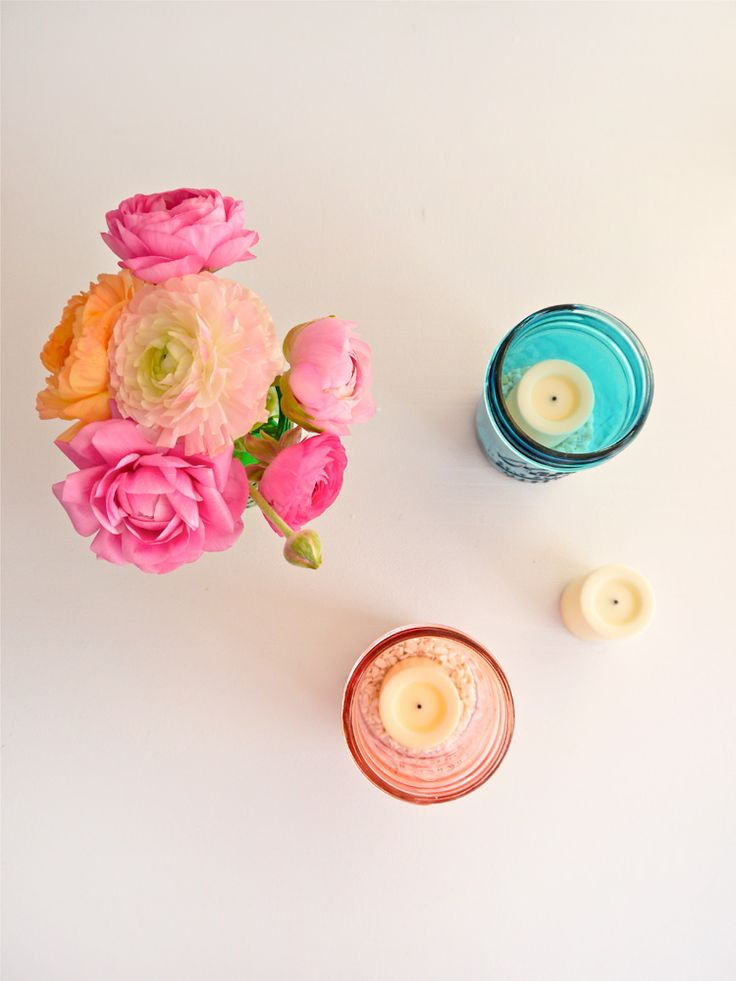 39 best images about mason jar centerpieces on pinterest for Small flowers for crafts