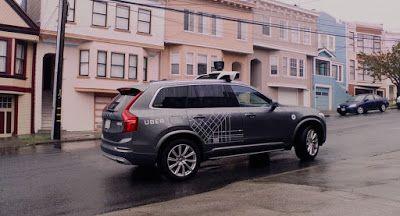 Selbstfahr Volvo Program Uber Wird die Straßen von San Francisco Hit