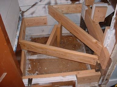 floor joist stair opening - Google Search