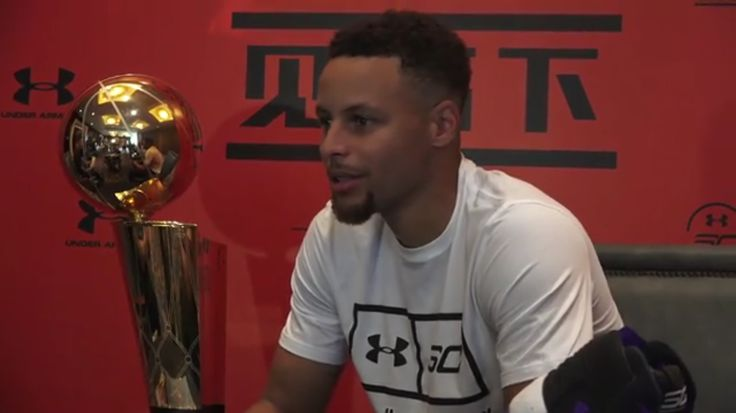 Stephen Curry Tips Off SC30 Asia Tour JULY 21, 2017- #StephenCurry arrived in Beijing to tip off his Asia tour in conjunction with #UnderArmour Basketball. Along with China stops in Beijing, Chengdu and Hangzhou, Steph also visited Seoul on the tour for the first time.