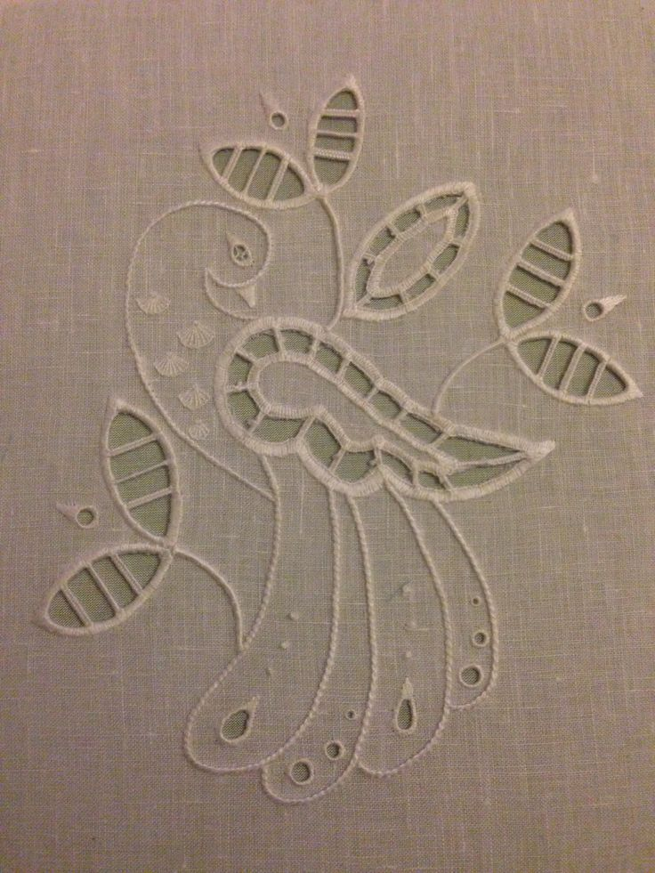White work completed April 2014 ~ by Deb Wilding RSN embroidery completed projects(uploaded by Deb Wilding)