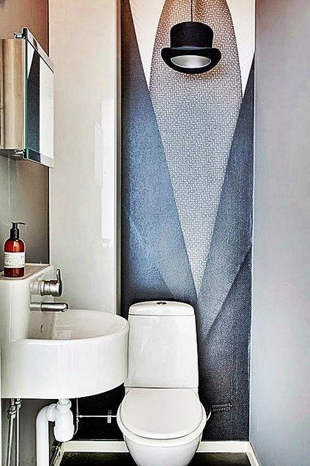 Uma seleção de 20 banheiros e lavabos pequenos e com detalhes bem originais para vocês. Quanto menor o ambiente, mais esforço para conseguir que seja funcional, além de bonito e cheio de personalidade.