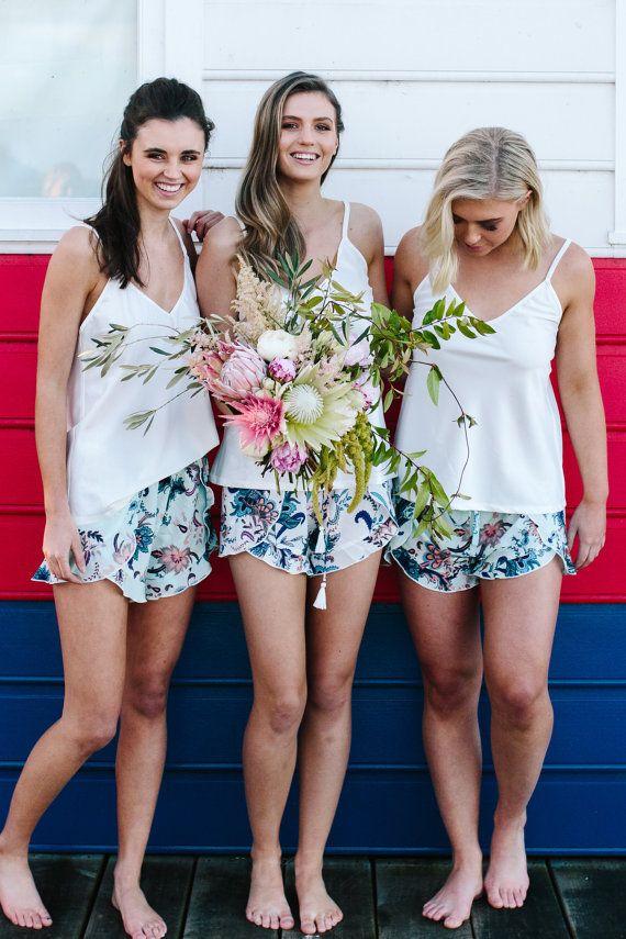 Bridesmaid Gifts  Shorts for Brides and Bridesmaids by LeRoseGifts