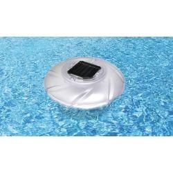 Luz solar multicolor flotante piscina LED