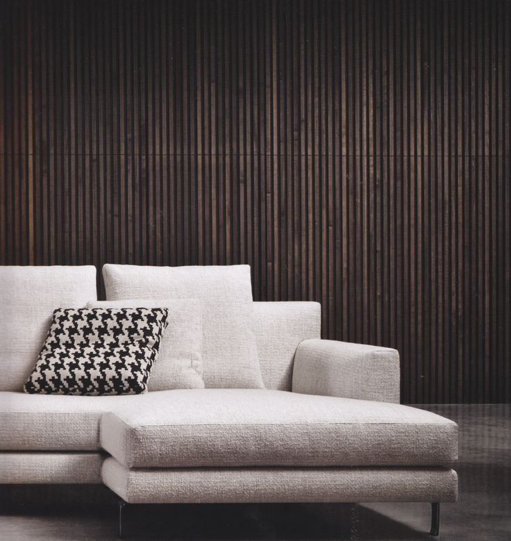 minotti lighting. minotti wall in living room and outside feature wood color varies for more depth lighting