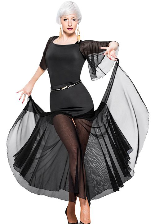 Espen Leman Skirt L5 | Dancesport Fashion @ DanceShopper.com