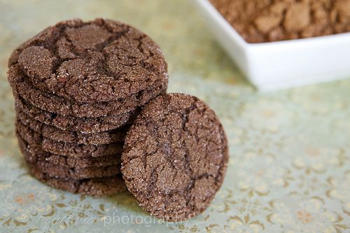 Chocolate Sugar Cookies - cracked chocolate sugar cookies are a ...